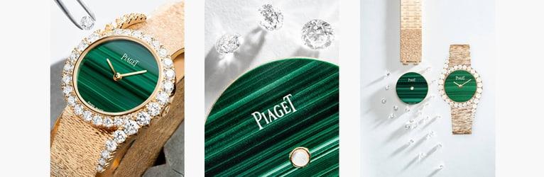 LIMELIGHT GALA系列玫瑰金和钻石腕表工艺