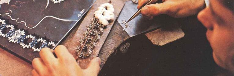 伯爵腕表设计师与工匠