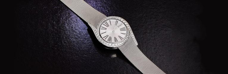GALA系列女士白金钻石腕表