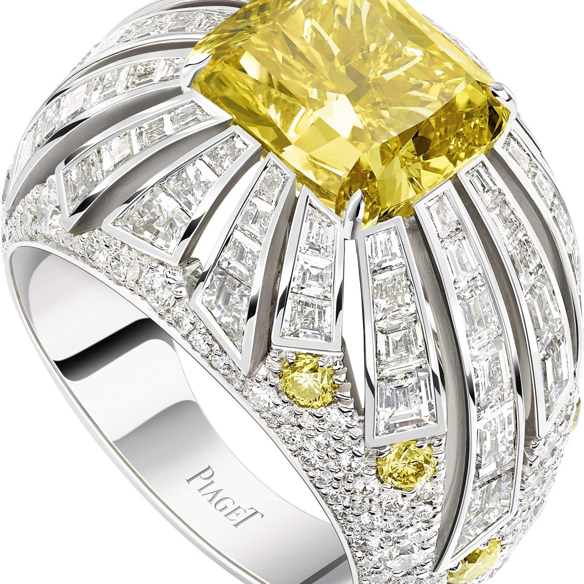 高级珠宝钻石戒指
