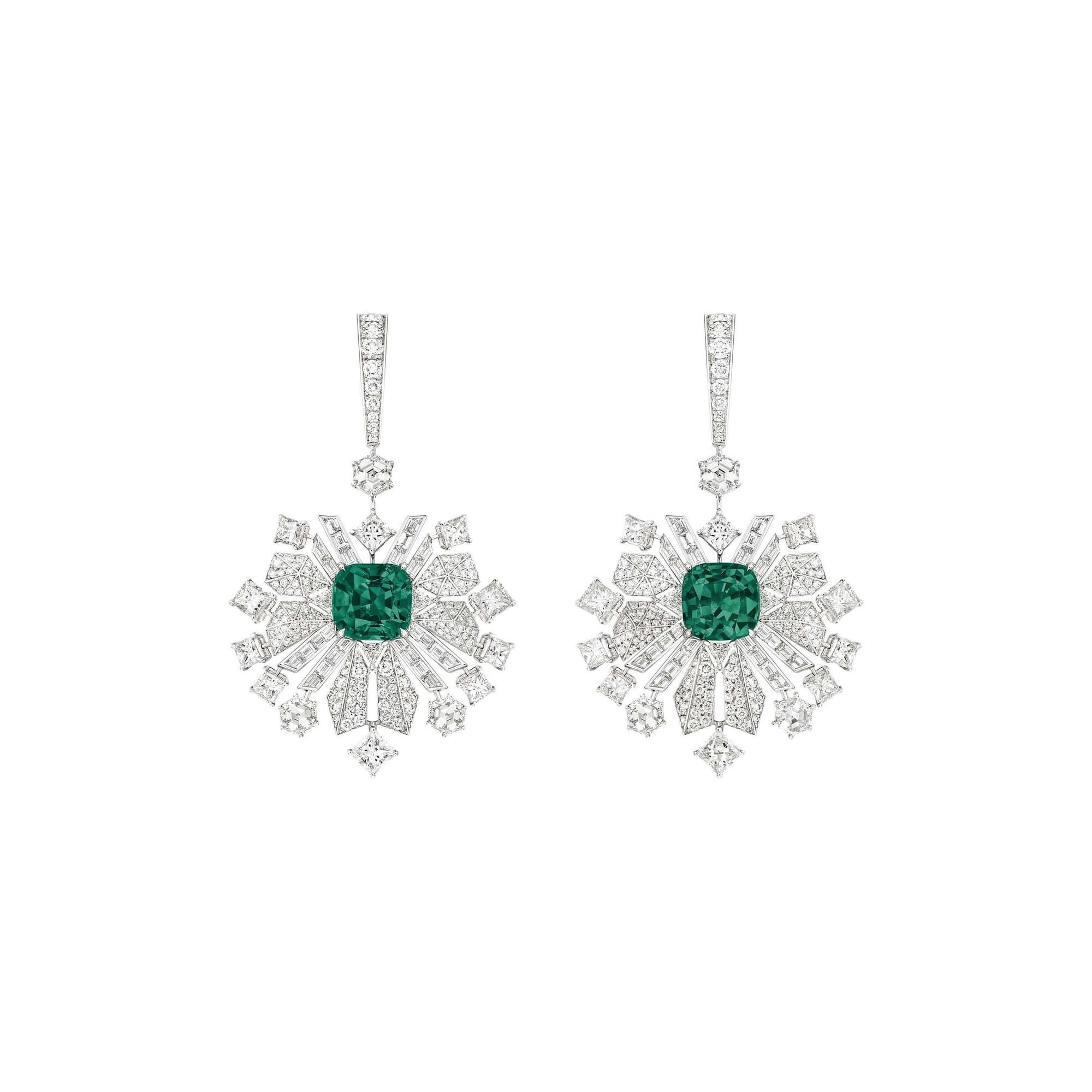 PIAGET伯爵高级珠宝钻石耳环