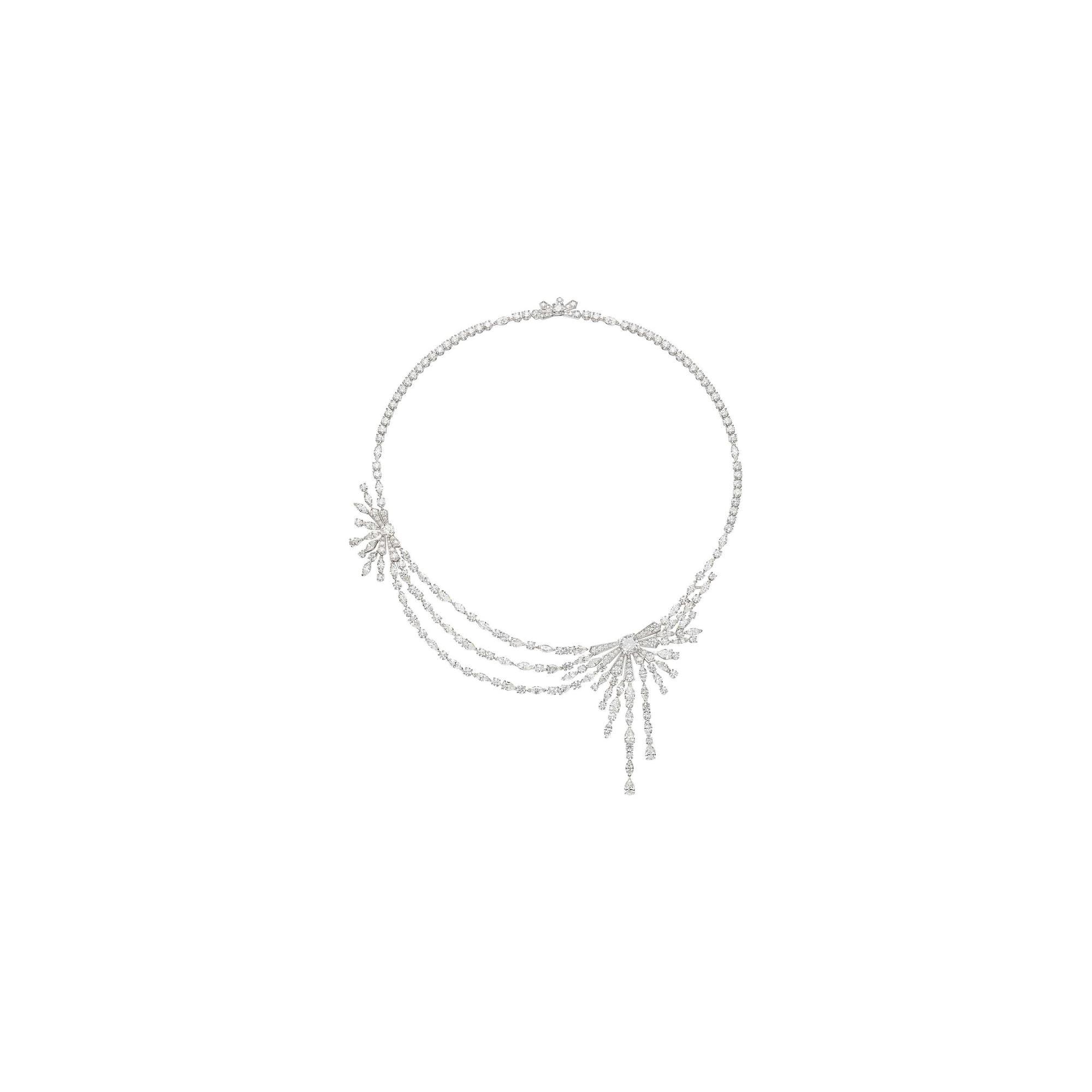 SUNLIGHT ESCAPE系列钻石项链