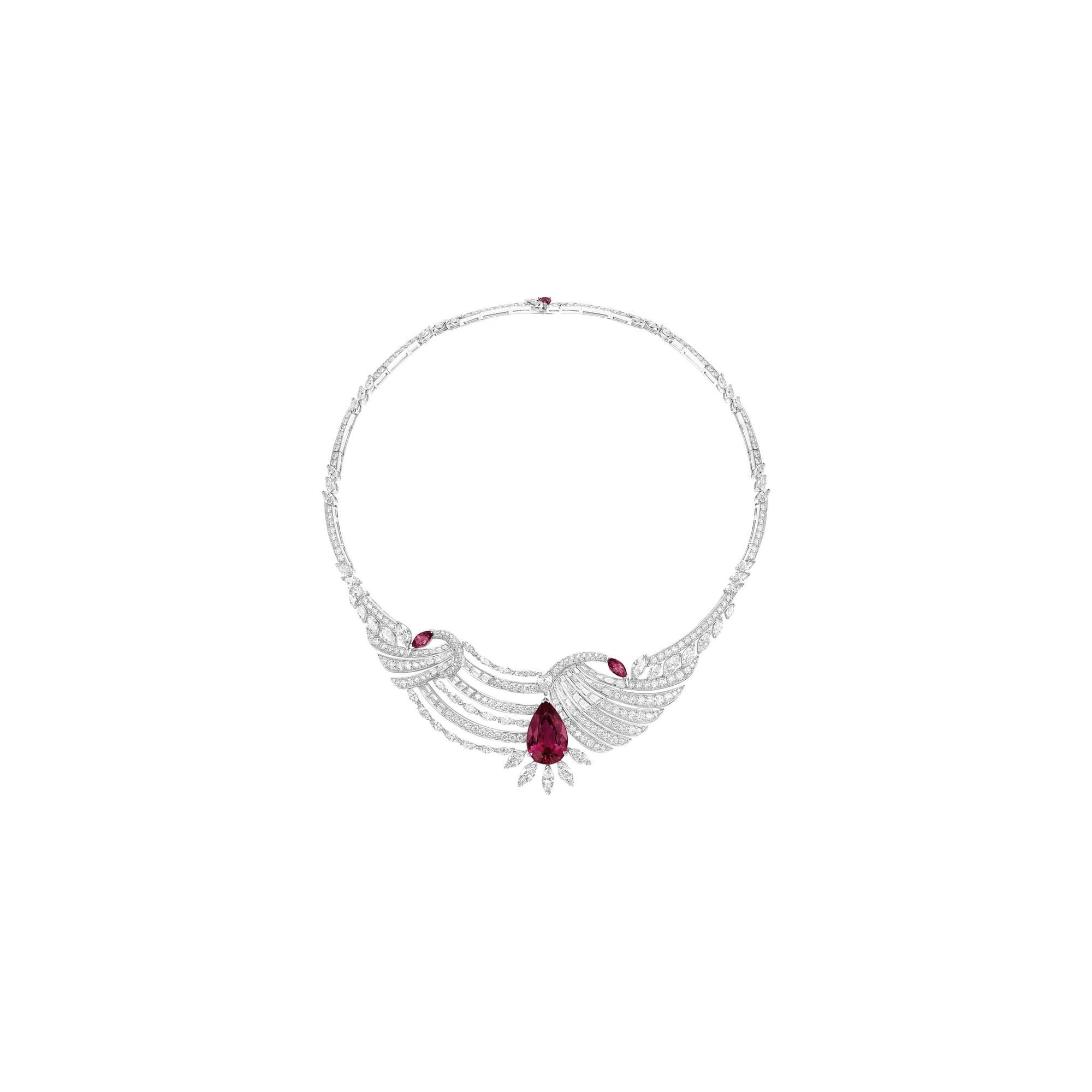 PIAGET伯爵高级珠宝钻石项链