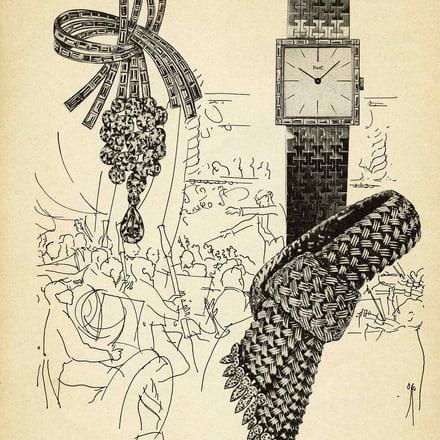 伯爵腕表和珠宝广告