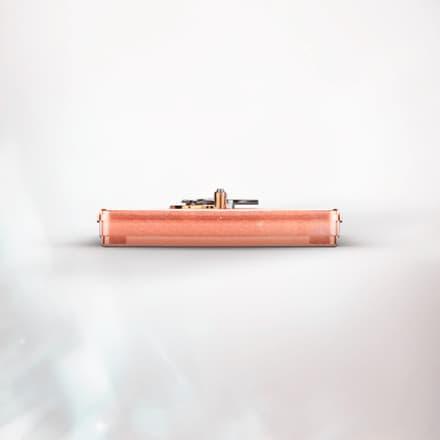 Piaget伯爵600D粉色镂空陀飞轮腕表机芯