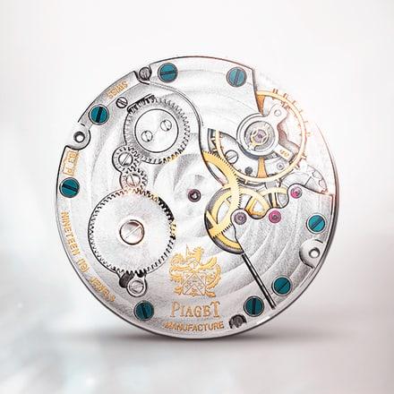 Piaget伯爵832P超薄手动上链机械机芯