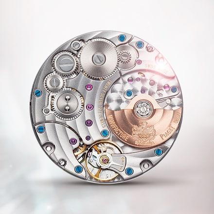 Piaget伯爵1205P超薄自动机械机芯