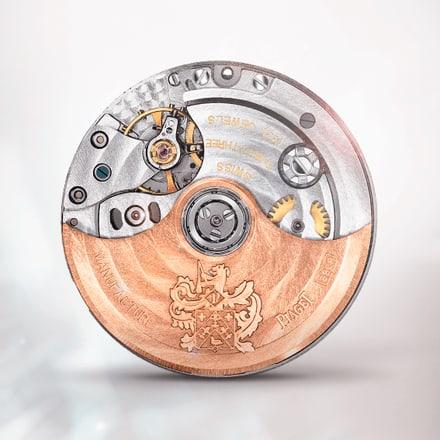 Piaget伯爵882P玫瑰金超薄机械计时机芯