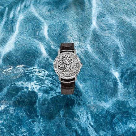 PIAGET伯爵白金钻石超薄腕表