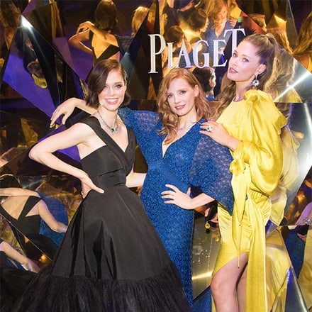 杰西卡•查斯坦(Jessica Chastain)、 Doutzen Kroes、 Coco Rocha:SUNLIGHT ESCAPE高级珠宝系列