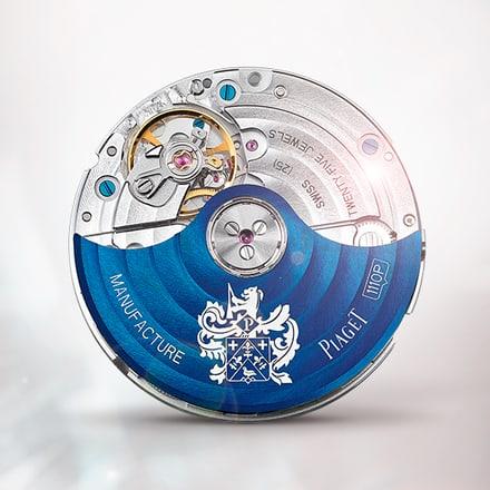 Piaget伯爵1110P蓝色自动机械机芯
