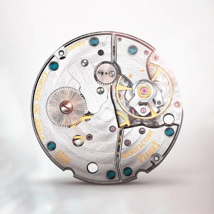 Piaget伯爵450P超薄手动上链机械机芯,带小秒针
