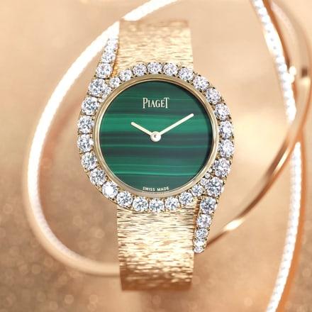 全新limelight gala系列玫瑰金钻石腕表