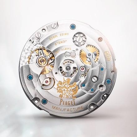 Piaget伯爵883P超薄机械计时机芯