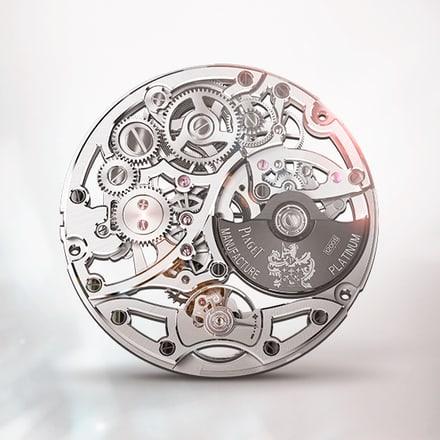 Piaget伯爵1200S镂空腕表机芯