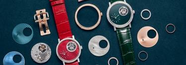 个性化定制金质钻石腕表