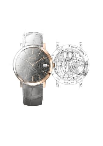 高级超薄硬质宝石表盘腕表