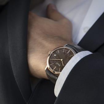 高级男士陨石表盘腕表