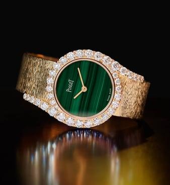 LIMELIGHT GALA系列玫瑰金腕表,镶嵌钻石