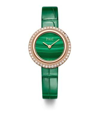 女士玫瑰金腕表