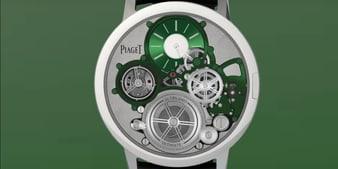 Altiplano至臻超薄 Ultimate Concept 纤薄机械腕表
