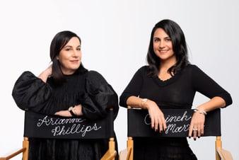 Arianne Philips与Carineh Martin佩戴高级珠宝和金质钻石腕表