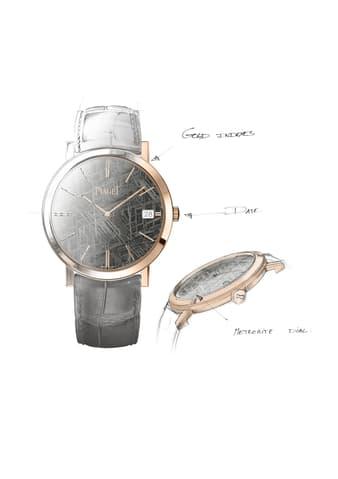 超薄硬质宝石表盘腕表
