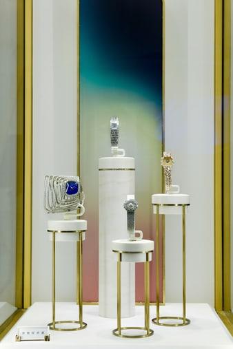 PIAGET伯爵高级金质钻石腕表