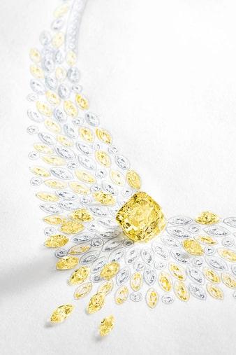 golden hour高级珠宝项链