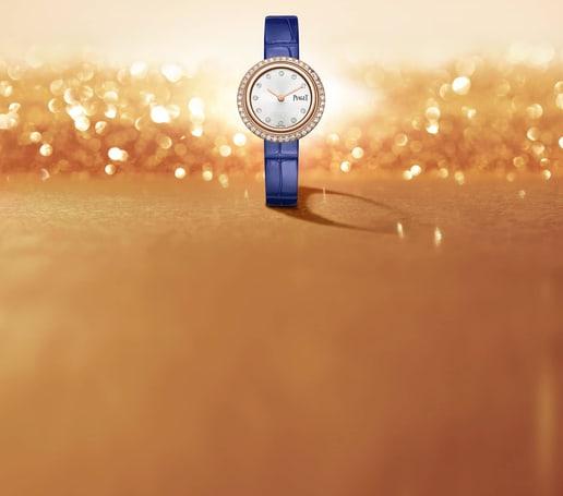 PIAGET伯爵POSSESSION高级女士腕表,搭配可替换表带
