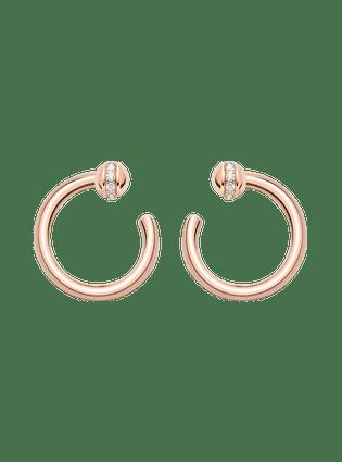 POSSESSION时来运转系列开放式圆圈耳环