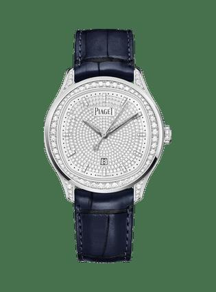 PIAGET伯爵Polo Date高級珠寶腕表