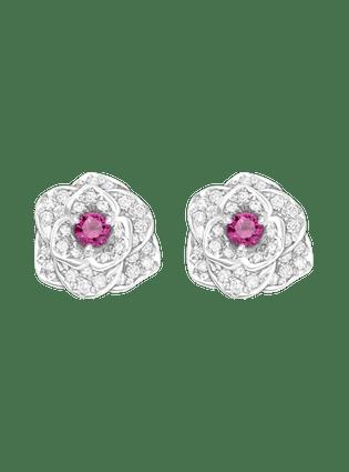 PIAGET伯爵Rose系列耳環