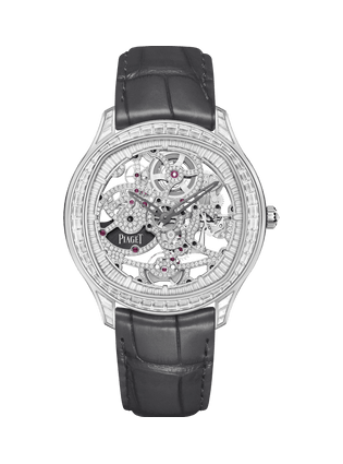 PIAGET伯爵Polo Skeleton高级珠宝腕表