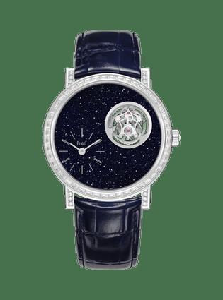 Altiplano至臻超薄系列陀飛輪高級珠寶腕表