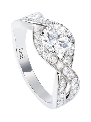 Piaget Jardin Secret订婚戒指