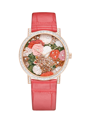Altiplano至臻超薄系列高級珠寶腕表