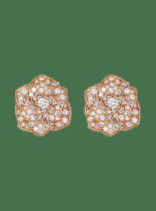 Piaget Rose耳环