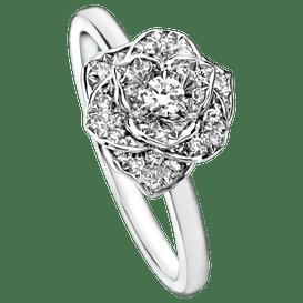 Piaget玫瑰戒指