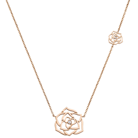 Piaget玫瑰垂饰